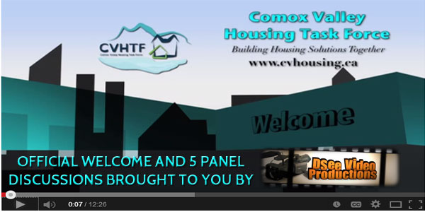 CVHTF Forum on Affordable Housing and Homelessness – Welcome and Panel Discussions through the lens of D See Video Productions