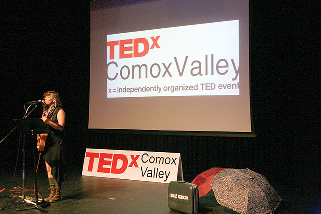 TEDx Show Brings Comox Valley Thinkers Together