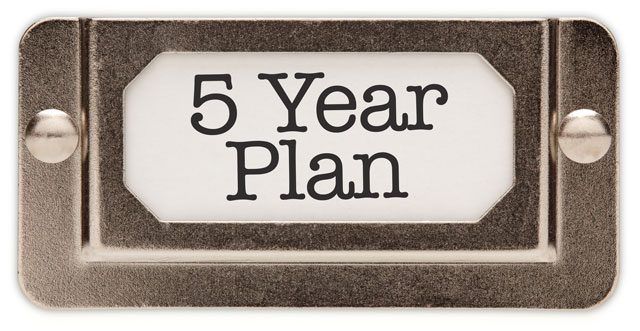 The 5-Year Plan